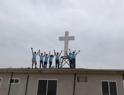 Mexico Tecate 선교센터에 십자가 세우기 2019