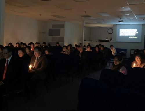 성탄절 새벽 촛불예배 2019